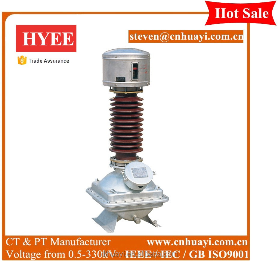 Specification 33kv voltage transformer manufacturer low price