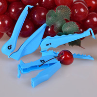 3PCS creative animal shape plastic bag clip