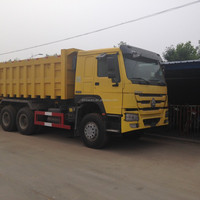 China sinotruck howo dump truck 6*4 20ton for sale in dubai