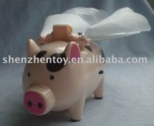 plastic pig electronic toy(OEM)