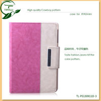 New Arrival PU stand case for ipad mini cases