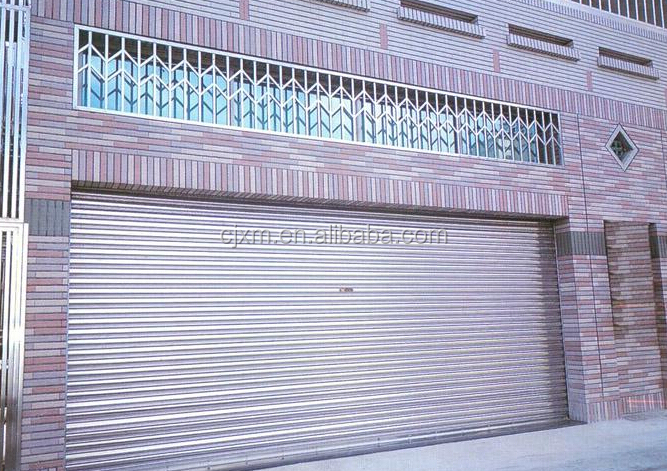 Colorful and StrongChina Hot Sale See-through Rolling Shutter Gate