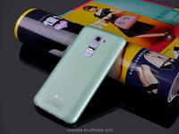 Manufactur utrathin transparent soft pp phone case for LG G2