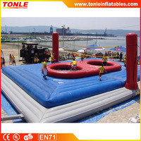 most popular outdoor inflatable Human Inflatable Bouncy volleyball for interractive game
