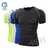 OEM custom Polyester fabric Sport wear wholesale fitness clothing for men and women