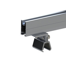 Cost Effective Aluminum Profile Solar Panel Mounting System Rail