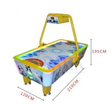 Hot selling Coin operated Ice air hockey table arcade games machine