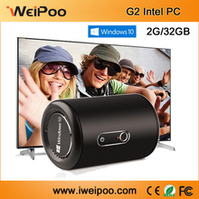 metal case window-s10 mini pc tv box CPU intel X5-Z8350/Z8300/Z3735F ROM 4G ROM 64GB stream media mini pc