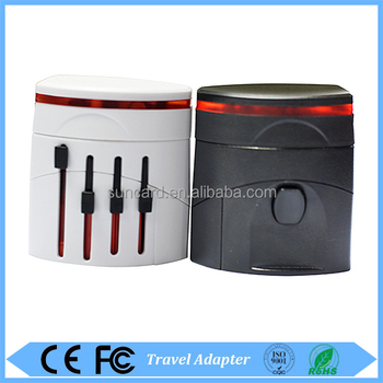 new product on china market most popular usb travel adapter
