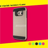 Hybrid Armor Style Dual Layer Rugged TPU+PC Case cover for Samsung S6 edge/s6/s5/note 4/note 5