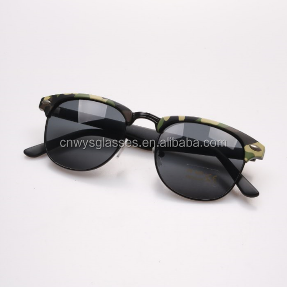 2016 TaiZhou new model fashional unisex clubmaster sunglasses