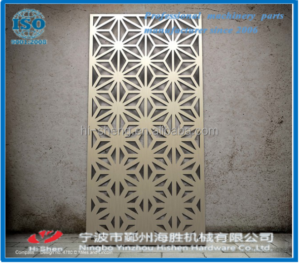 list of decorative laser cut panels