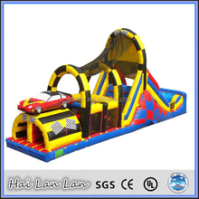 Inflatable Obstacle Course Toy For Kids Party