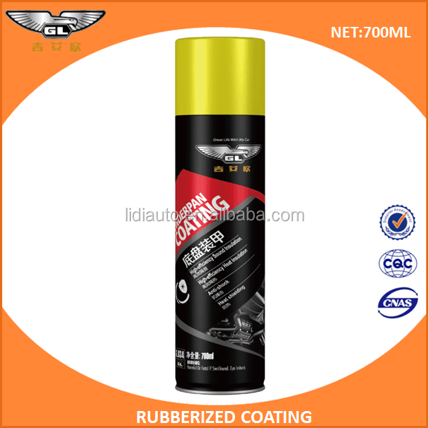 rubberized paint / auto rubberized undercoating spray