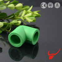 Plumbing Tool High Mechanical Strength 90 Degree PPR Elbow PPR Pipe fittings