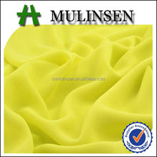 Mulinsen Textile Woven Crepe Chiffon High Twist 100% Polyester Dying Chiffon Fabric for Dress