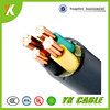 Favorable price PVC insulated 4 core 10mm2 low voltage power cable