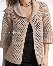 Ladies Crochet Cardigan