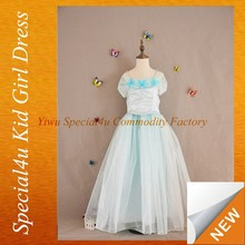 Latest children birthday dress designs butterfly princess cinderella children fancy dress SPSY-155