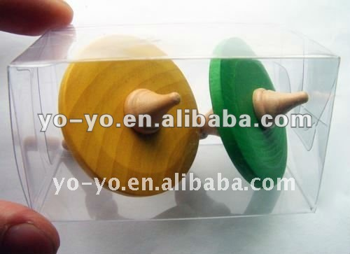 HY0000 Wood spinning top