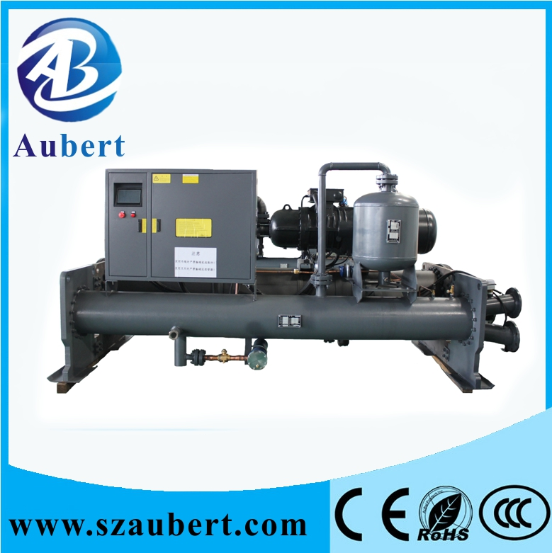 water cooled screw type industrial water chiller