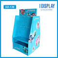 Customized fashion pop corrugated paper sidekick display stand for swimming gear
