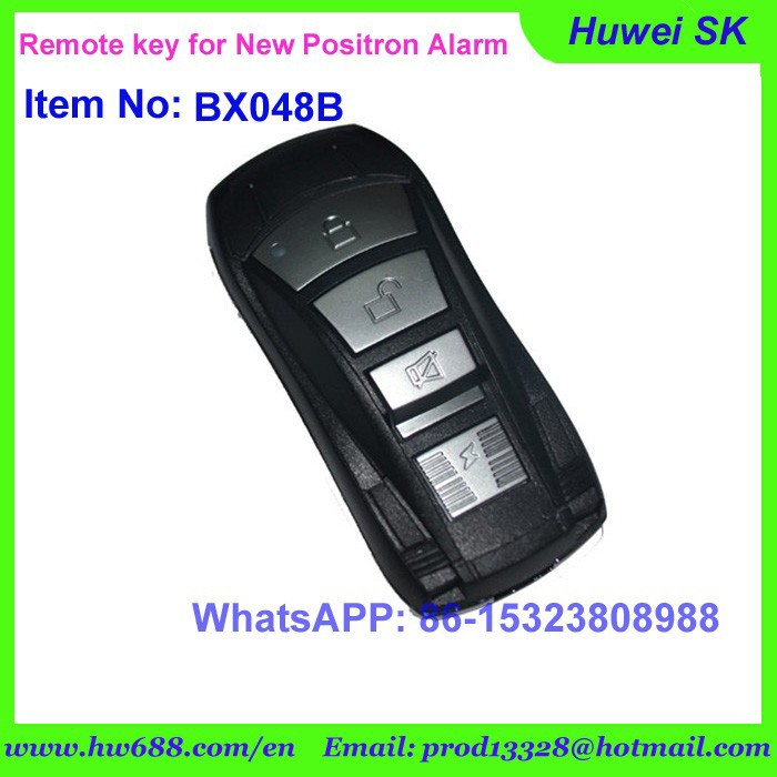 New model Remote key with 12F519IMS chip for brazil positron alarm system,folding remote key, 433.92Mhz, 12F519IMS Computer code