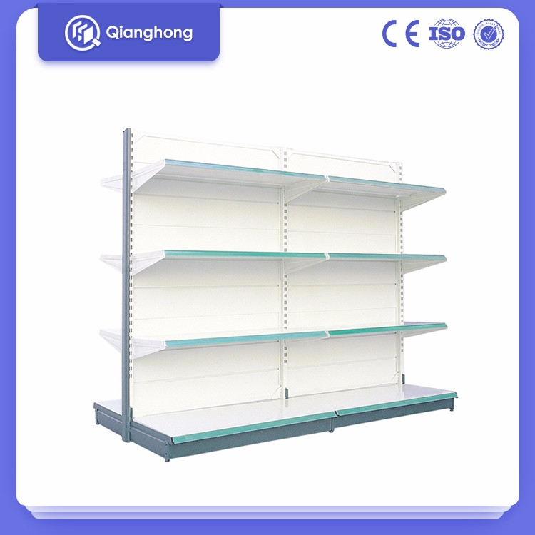 Walmart partition mini supermarket display shelf