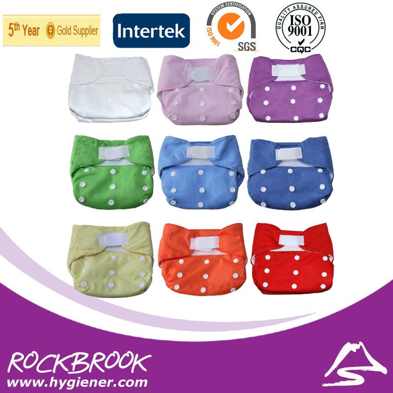 Washable Baby Cloth Diaper Inserts, Bamboo Cloth Diaper With Inserts