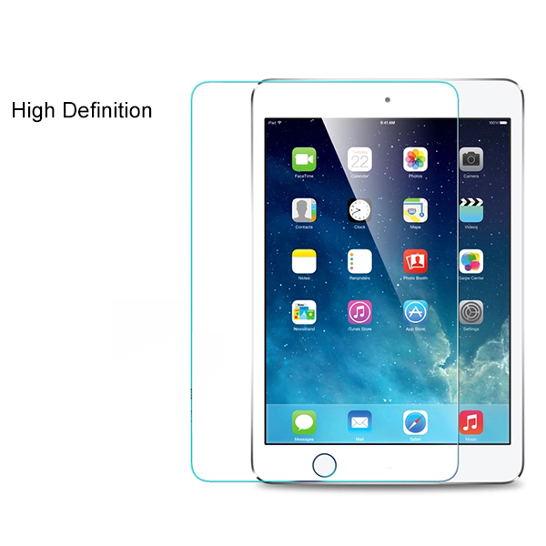 Hot ! Tempered Glass Screen Protector For ipad mini 1 2 3 with Retail box Explosion Proof Clear Toughened Protective Film