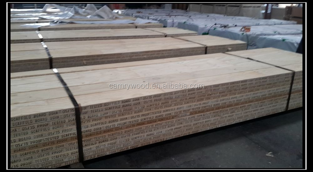 Australia Market NEW ZEALAND PINE high quality lvl scaffolding board for construction