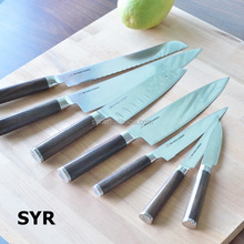 Japanese High Carbon Stainless Steel Wooden handle Kitchen Knives