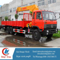 XCMG SQ10SK1Q Truck Mounted Telescopic Crane Loading Crane