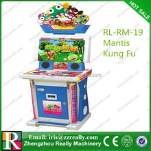 Mantis Kung fu coin operated touch screen slotting machine games