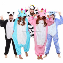 Ecoparty Cosplay Panda Stitch Totoro Unisex Adult Onesie Unicorn Pajama Sets Women Pajamas Christmas Cartoon Animal Sleepwear