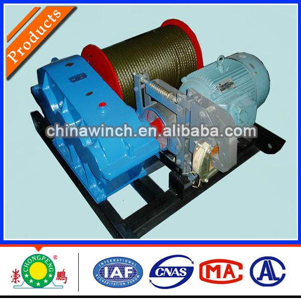 JK Electric Control Fast Line Speed Winch 10t
