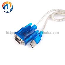 CH340 chip USB 2.0 To RS232 RS-232 Converter DB9 COM Adapter cable 80CM HL-340