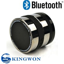 Kingwon hot sale camera lens shape mini bluetooth speaker, it can rotate for 360 degree
