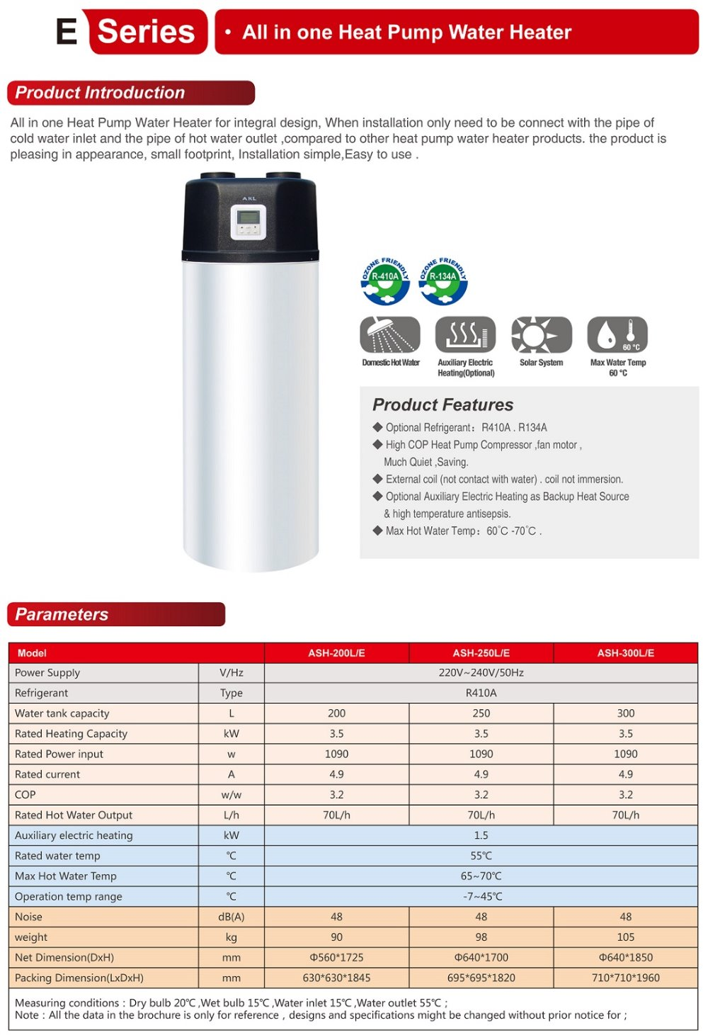 Air Source Heat Pump Water Heater air source heat pump all in one model for sanitary hot water,heat