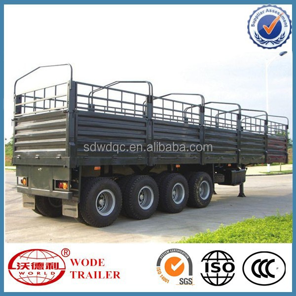Manufacturer Supply Cargo Semi Trailer With CCC , SGS , ISO