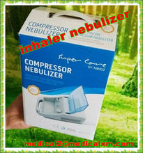 air compressor inhaler nebulizer with 2.1 meter tube