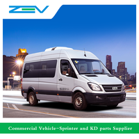 ZEV CDK6600EV1 6 meters electric mini bus sprinter bus for sale