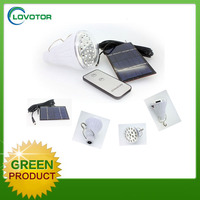 High quality solar outdoor lighting system portable solar lamp