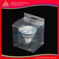 China manufacturer 9*9*6mm clear small transparent plastic jewelry box