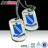 China factory supply cheap metal dog tag for cool kid