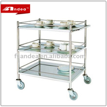 Hotel Wine Service Trolley/Dining Service Cart/Kitchen Restaurant Equipment