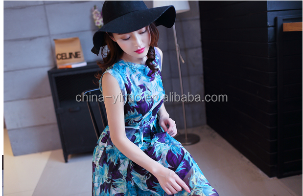Chiffon Long Dress/ Long beach dress / hot taobao purchasing agency