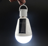 Alibaba hot sale led emergency light 7w 12w e27 solar led rechargeable bulb with good quality
