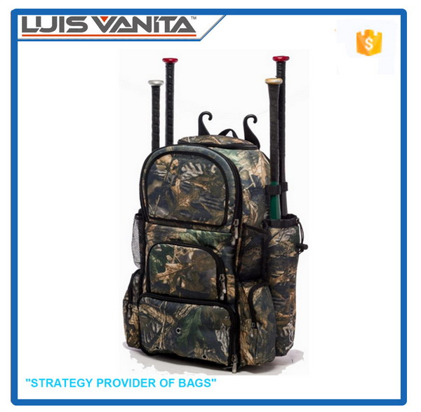 Fsahion Nice Camouflage Wholesale Baseball Bat Bag
