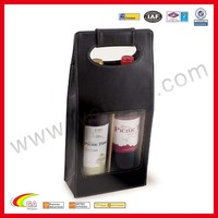 Leather Wine Storage Tote Carrier wholesale